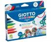 Marker tekstiilile Giotto Decor Textile 6tk